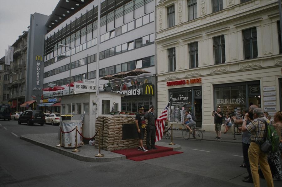 Checkpoint Charlie, Berlin,2019